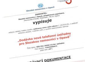 Veřejná zakázka Slezské nemocnice Opava